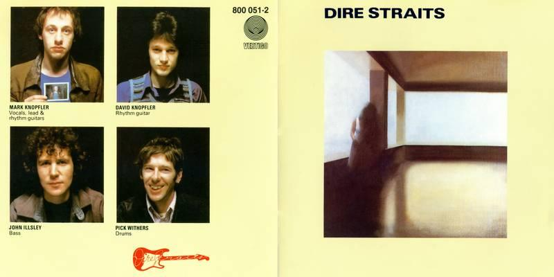 Dire Straits Dire Straits 1978 BOOKLET Front Cover 115836