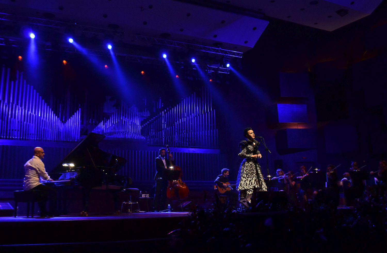 Amira Medunjanin u Lisinskom