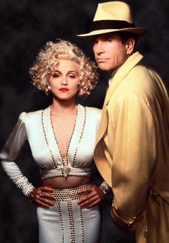 Madonna i Waren Beatty