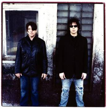 Will Sergeant & Ian McCulloch of Echo & the Bunnymen