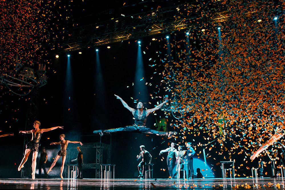 Baletni spektakl u Puli