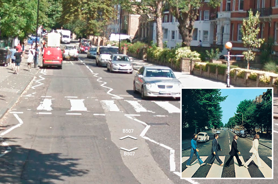 9 TheBeatles AbbeyRoad Streetview 230715