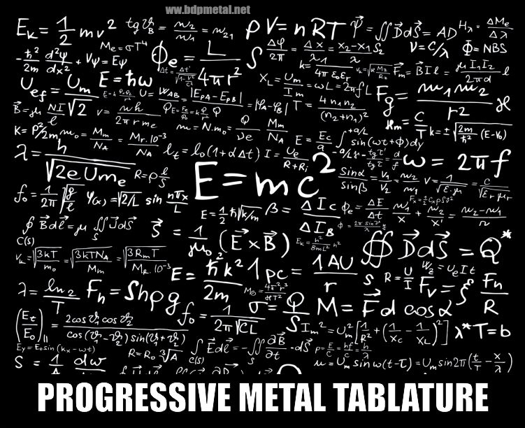 Progressive Metal Tablature