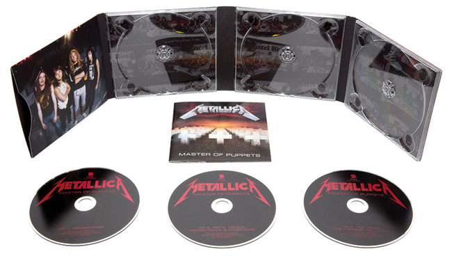 Metallica Master Of Puppets reissue CD