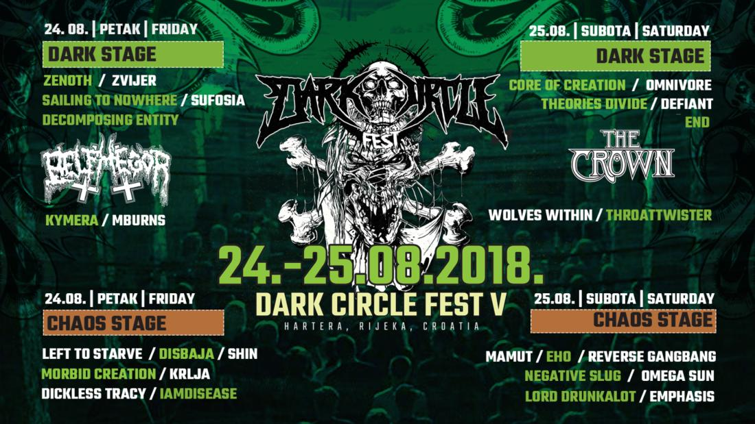 Dark Circle Fest od 24. do 25.8. u Rijeci