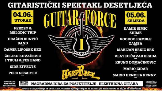 Guitar force One u Zagrebu