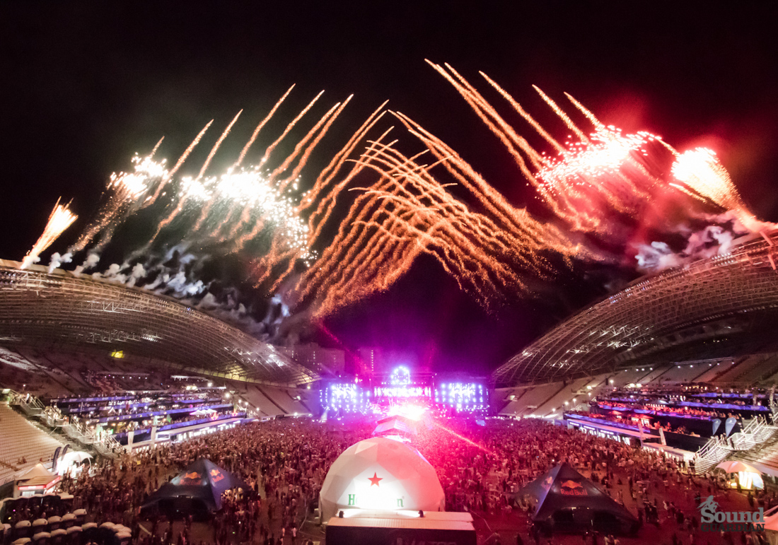 DJ Snake i Davida Guetta na Ultra Europe